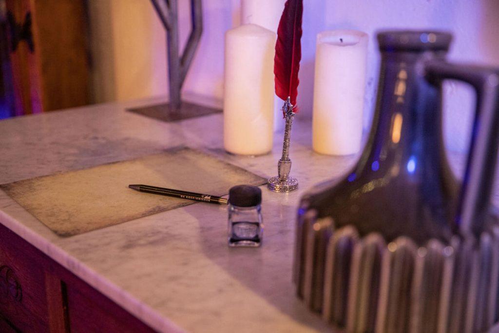 Foto aus dem Escape Room Die Werkstatt des Alchemisten
